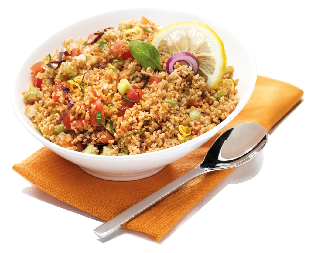 Salade fra cheur au boulgour de petit peautre de haute - Cuisiner le petit epeautre ...