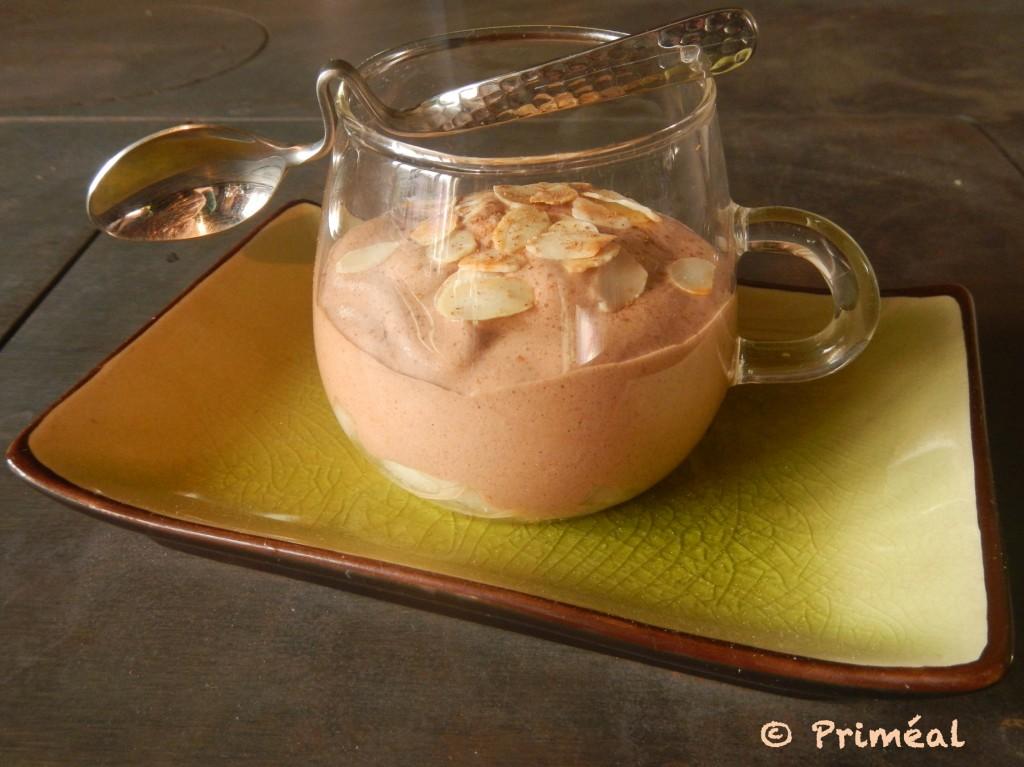 Verrines poires-chocolat - Priméal