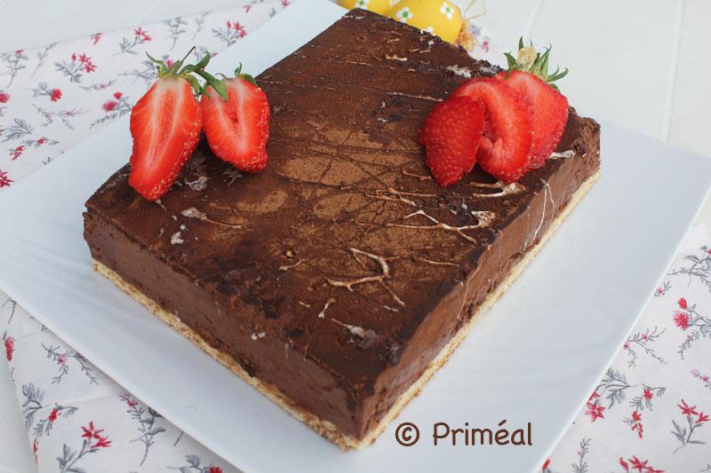 Recette Bio Priméal : Royal au chocolat