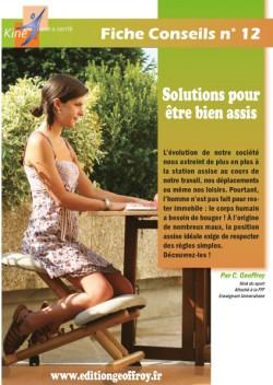 Solutions pour être bien assis expliquées par Christophe Geoffroy