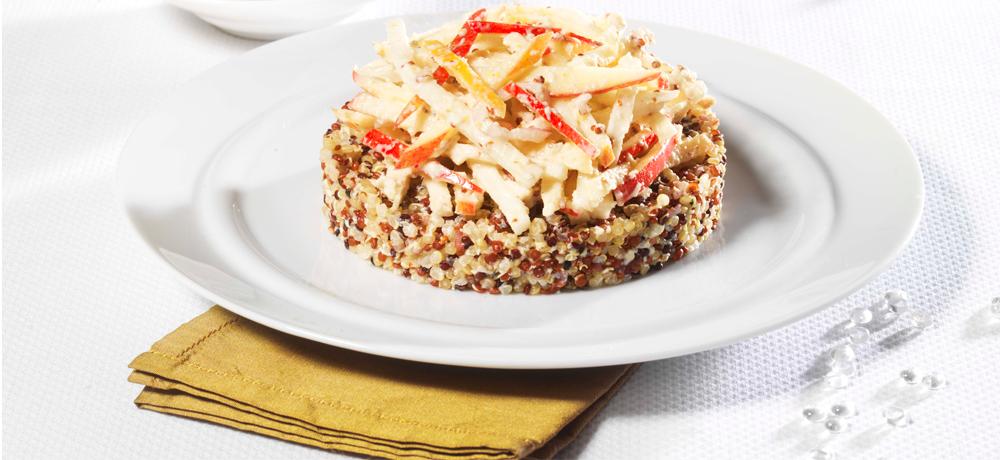 Recette Bio Priméal : Trio de quinoa en remoulade