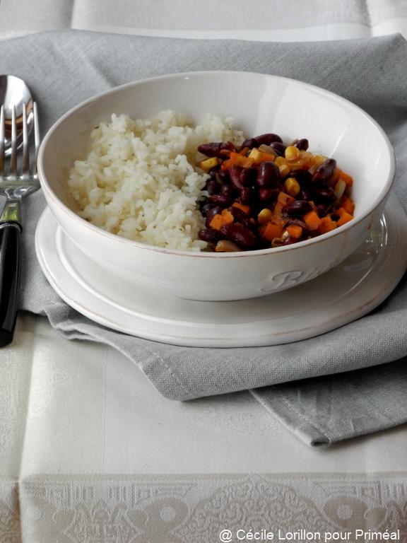Recette bio : Chili végétarien au potiron