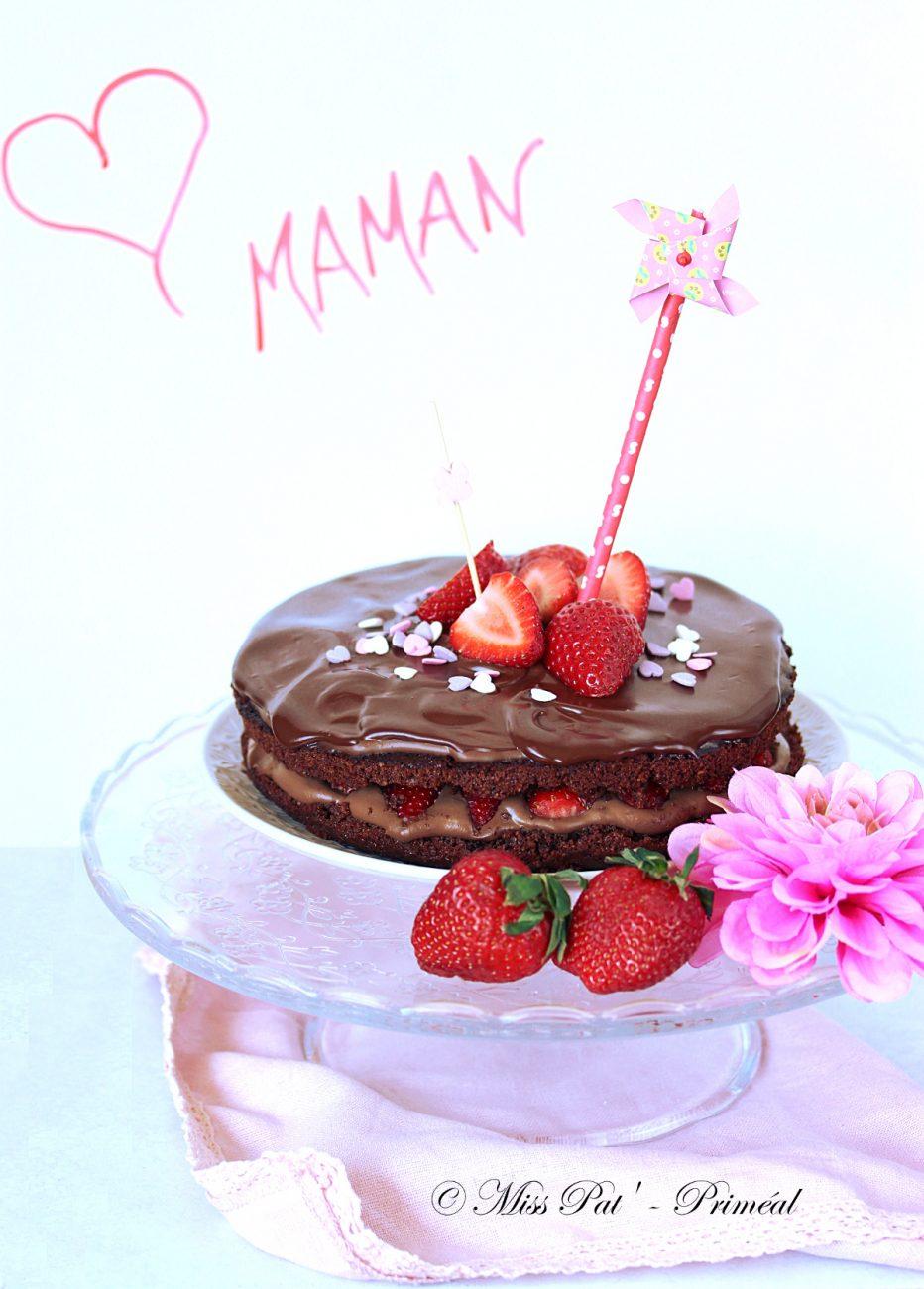 Recette bio : Gâteau au chocolat noir pour maman