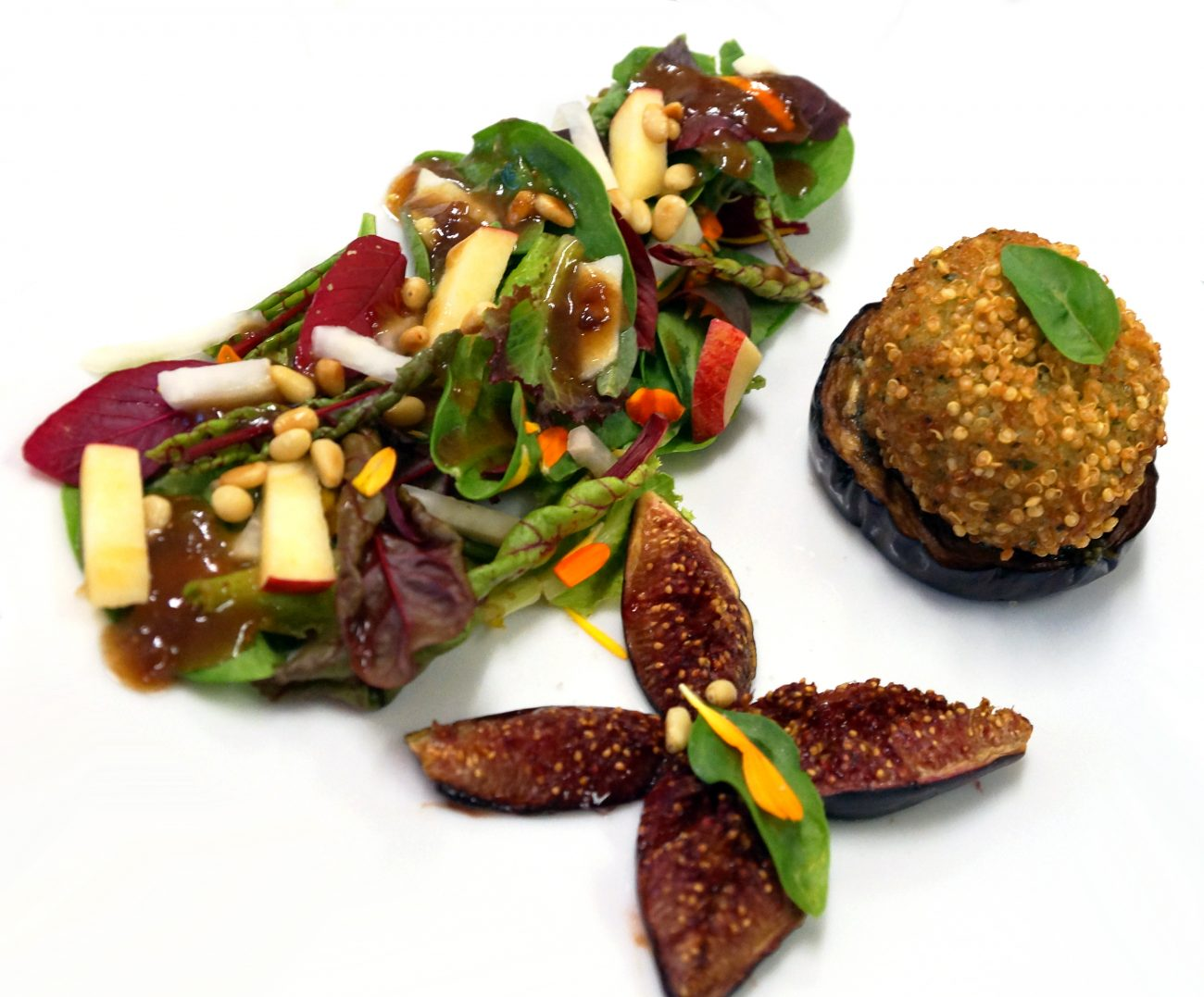 Cromesquis de quinoa au fromage végétal