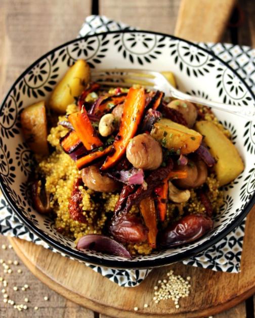 menu de noel Tajine d'hiver au quinoa, en sucré-salé