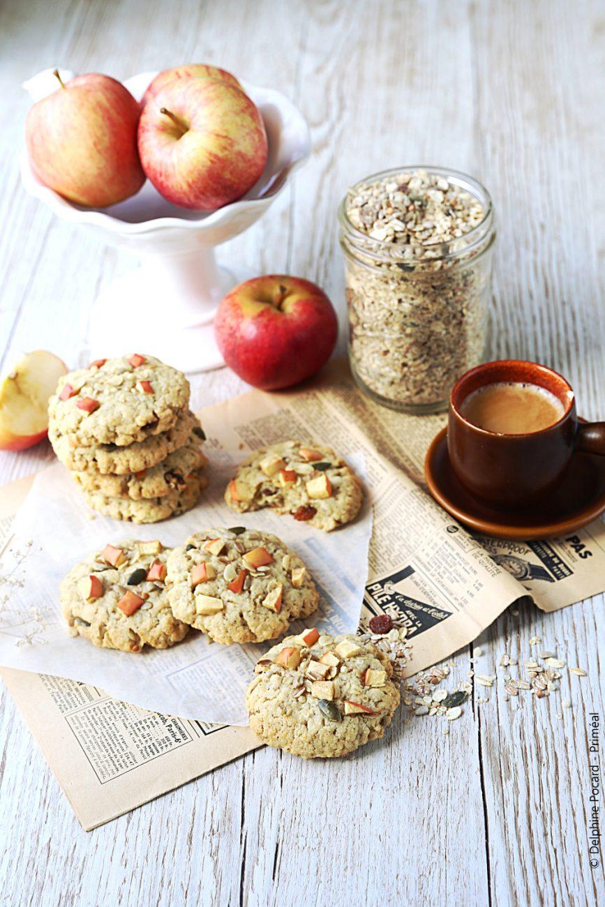 Cookies petit déj' muesli et pomme