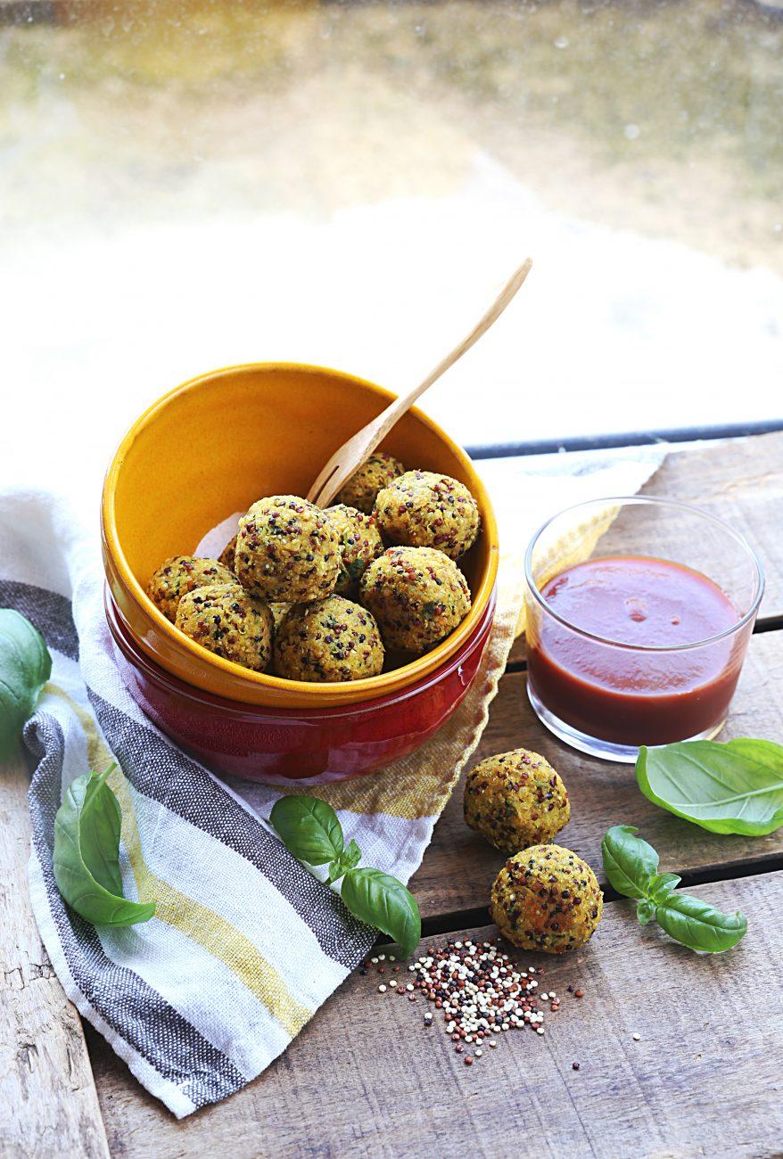 Quinoa balls aux épices