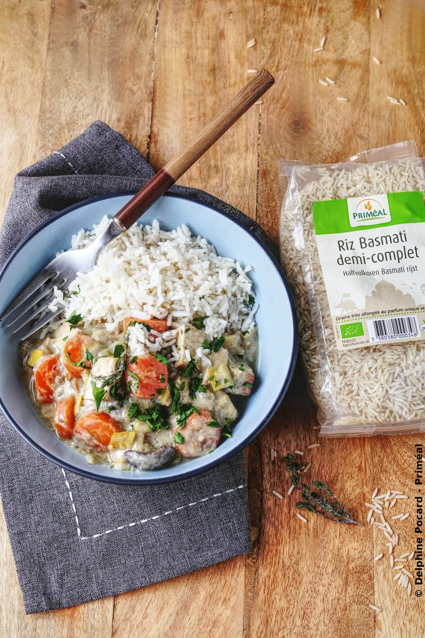 Blanquette veggie, au tofu