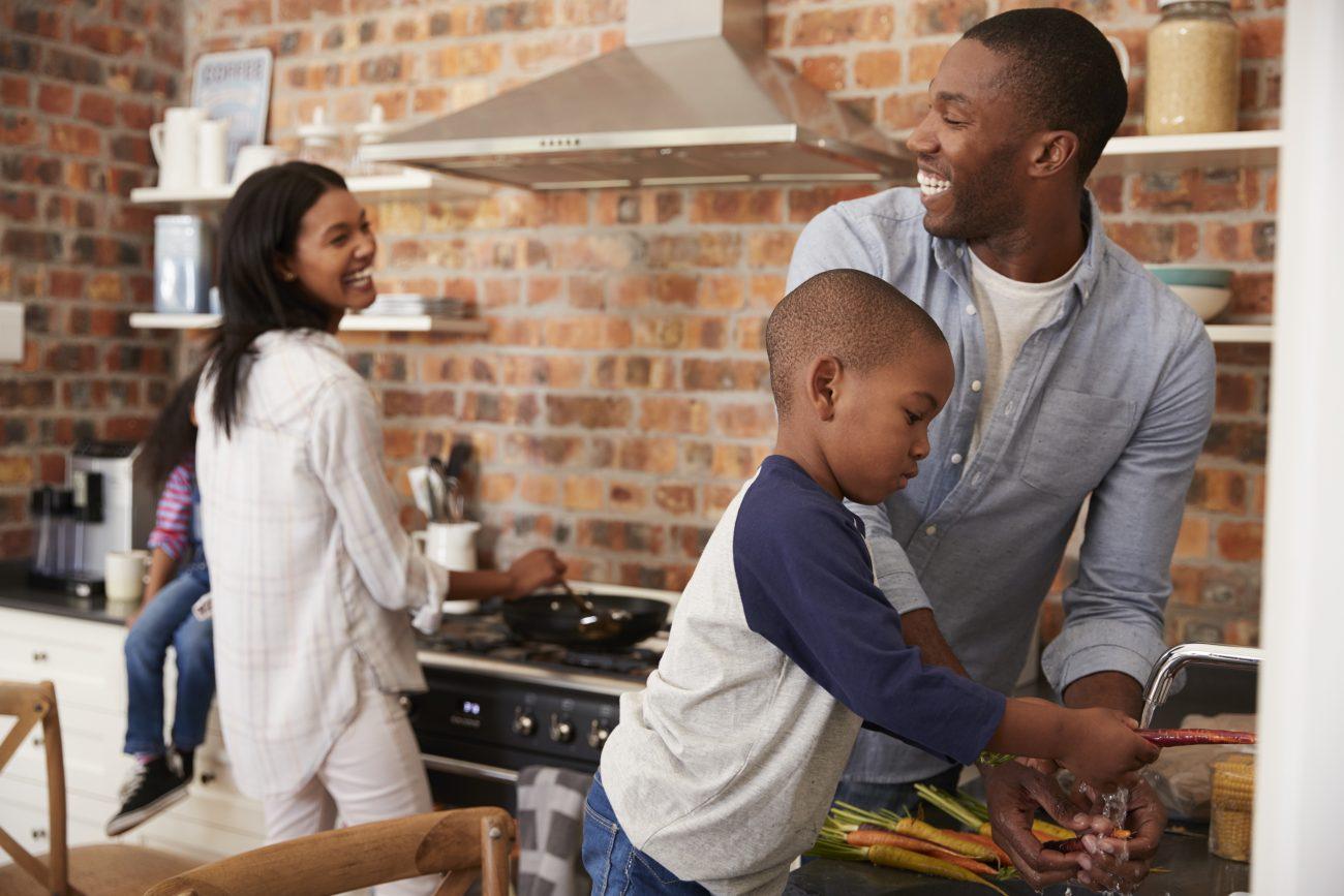 Cuisine en famille
