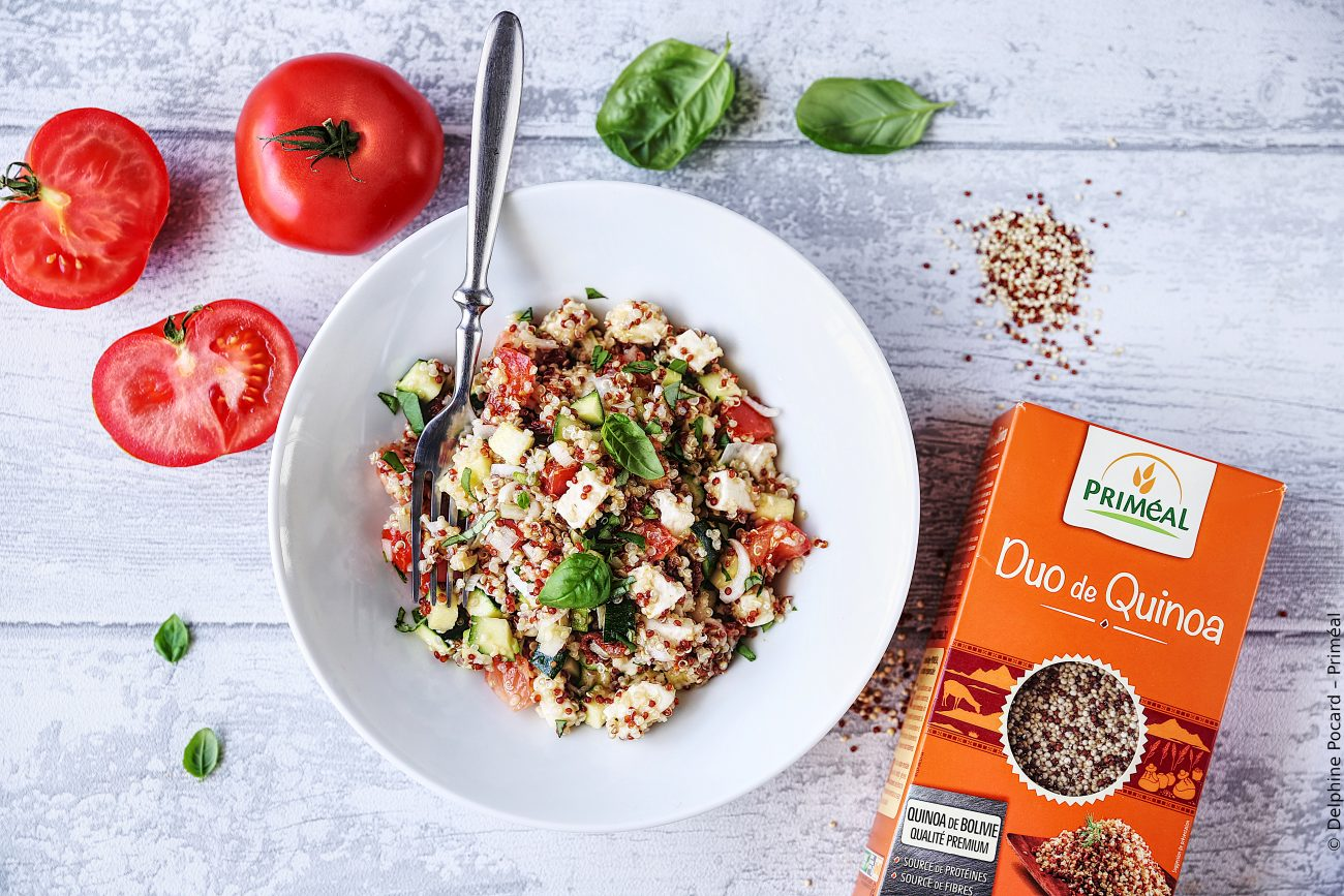 Salade italienne au duo de quinoa