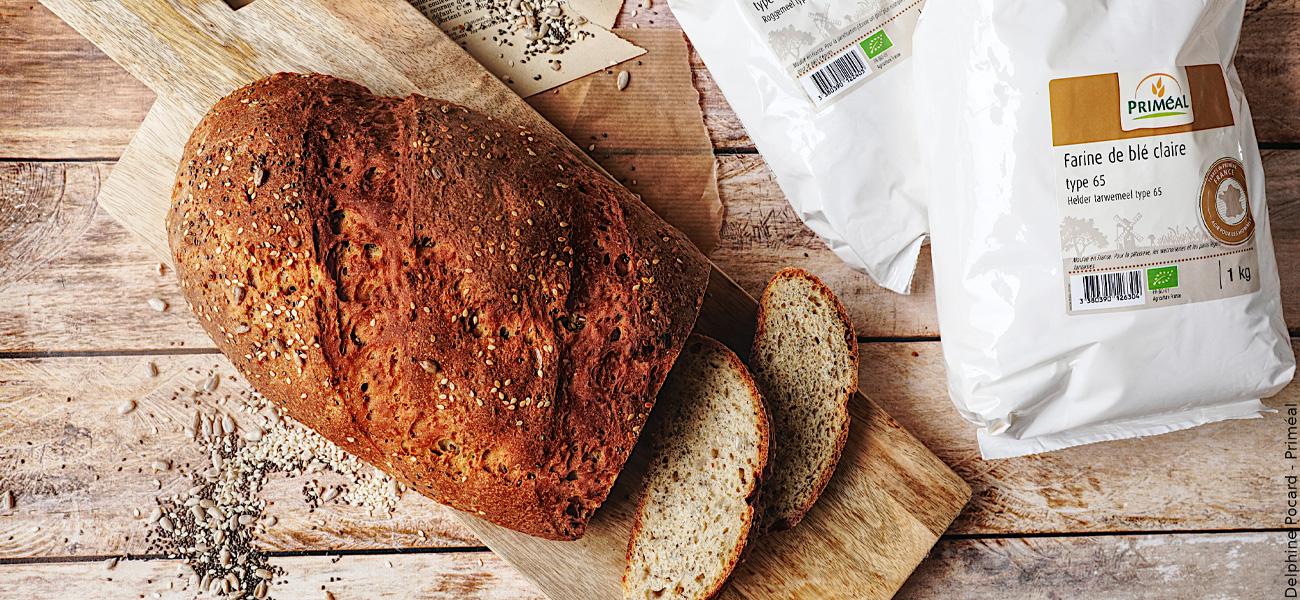 Recette de pain de campagne maison
